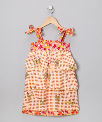 Fables Butterfly Layered Dress - Infant, Toddler & Girls