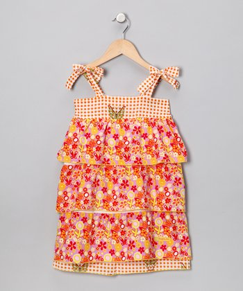 Fables Floral Layered Dress - Infant, Toddler & Girls