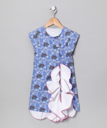 Serenity Peacock Party Dress - Infant & Toddler
