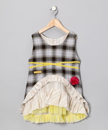 Yellow Beatrice Dress - Infant