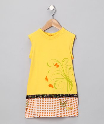 Yellow Mod Dress - Infant & Toddler