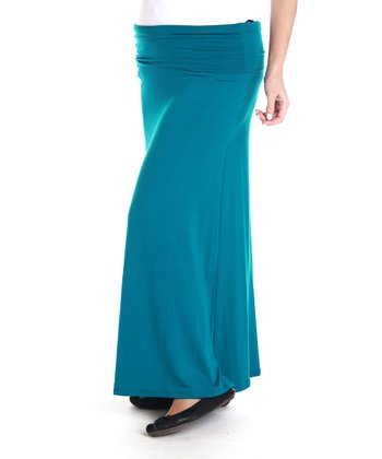 Jade Under-Belly Maternity Maxi Skirt