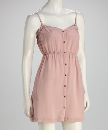 Pink Silk Neruda Dress