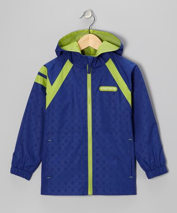 Royal Blue 'Utility #77A' Jacket - Boys
