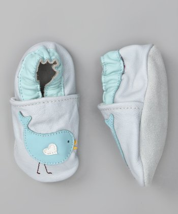 Light Blue Chirp Booties