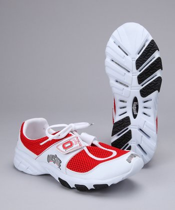 Red Ohio State Sneaker