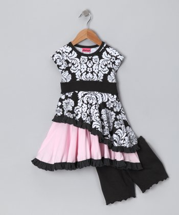 Black Got That Swing Dress & Bloomers - Infant, Toddler & Girls