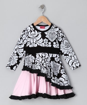 Black Got That Swing Dress - Infant, Toddler & Girls