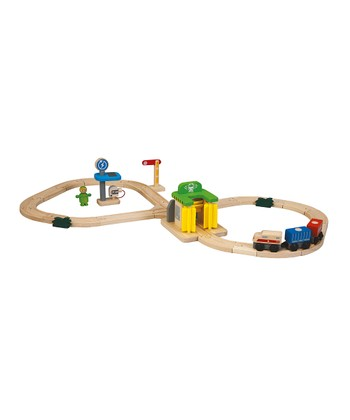 Road & Rail Washing Station Set