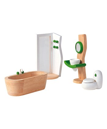 Bathroom Dollhouse Décor Set