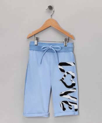 Baby Blue Capri Pants - Toddler & Girls