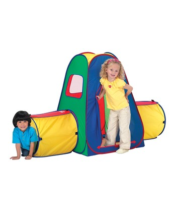 Tunnel Crawl 'N' Play Tent