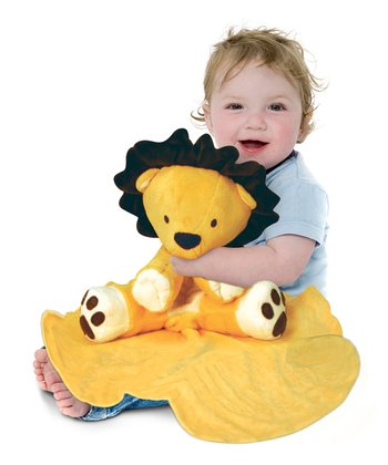 Yellow Large Lion Cuddle Buddy