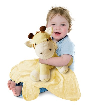 Yellow Large Giraffe Cuddle Buddy