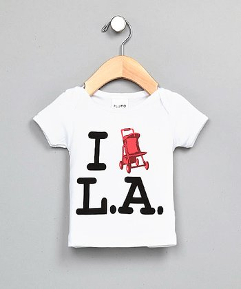White I Stroll LA Tee - Infant & Kids