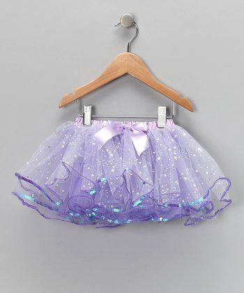 Purple Sequin Tutu - Toddler & Girls