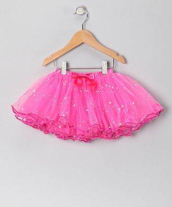 Hot Pink Sequin Tutu - Girls