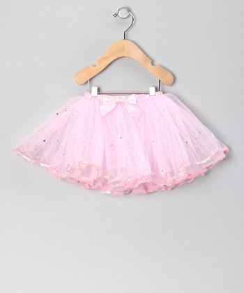 Pink Sequin Tutu - Toddler & Girls