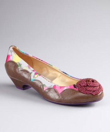 Chestnut Cherry Blossom Shoe