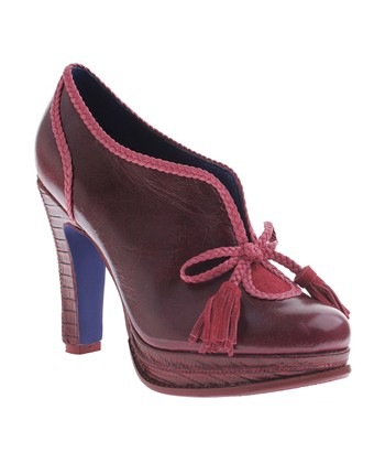 Burgundy Rouge Bootie