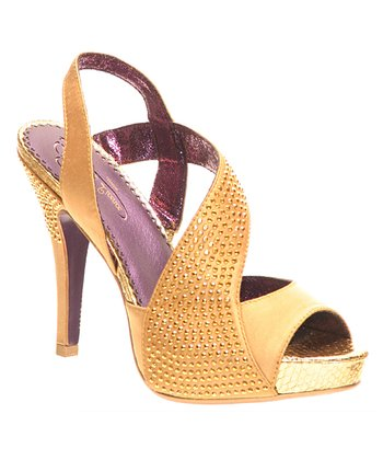 Yellow Royal Occasion Sandal