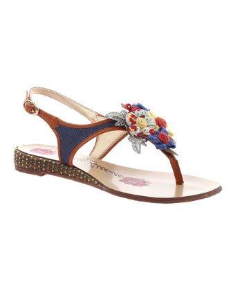 Denim Summer Hoopla Sandal