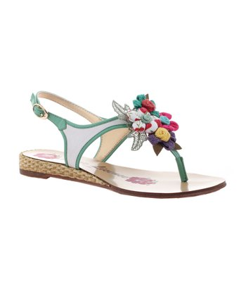 White Summer Hoopla Sandal