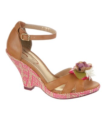 Tan True Romance Wedge