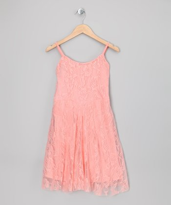Mellow Rose Floral Lace Dress