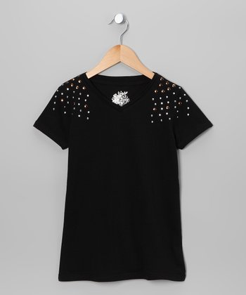 Black Nailhead Tee