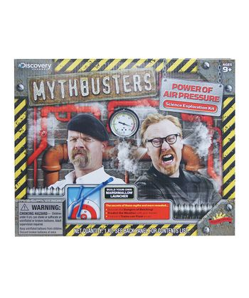 Power of Air Pressure Mythbusters Kit