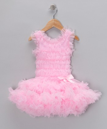 Pink Ruffle Skirted Bodysuit - Infant, Toddler & Girls