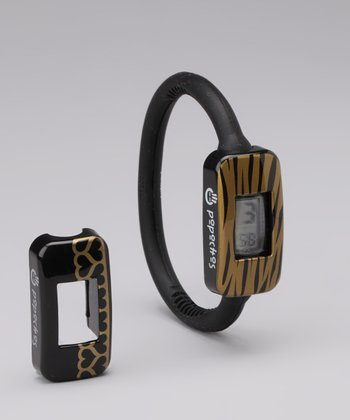 Black Watch & Gold Zebra/Heart Cover Set