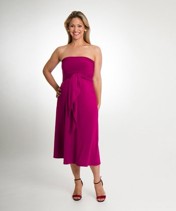 Jazzberry Classic Convertible Maternity Dress