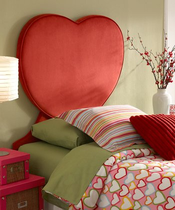 Heart Twin Headboard