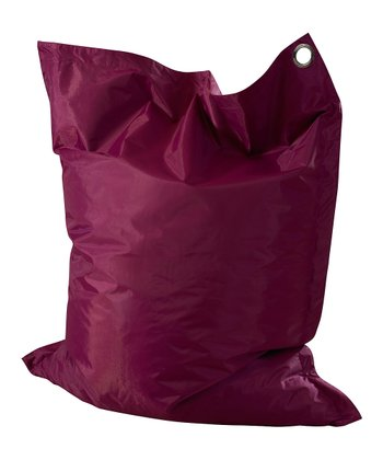 Purple Anywhere Lounger Beanbag
