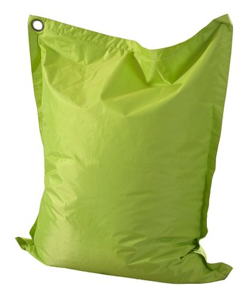 Lime Green Anywhere Lounger Beanbag