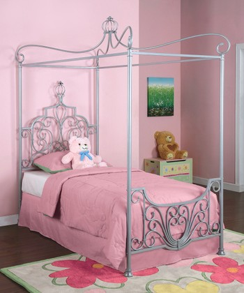 Princess Sparkle Canopy Bed