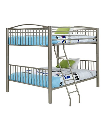 Pewter Full Bunk Bed