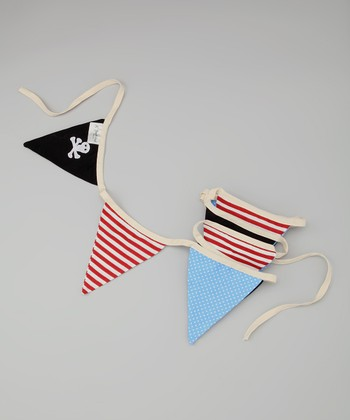 Red & Black Pirate Bunting