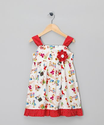 Red Rebecca Dress - Infant, Toddler & Girls