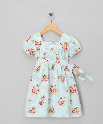 Blue Evie Dress - Infant, Toddler & Girls