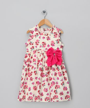 Pink Elsie Dress - Infant & Toddler