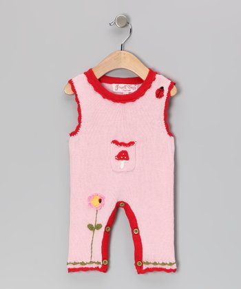 Pink Enchanted Forest Playsuit - Infant