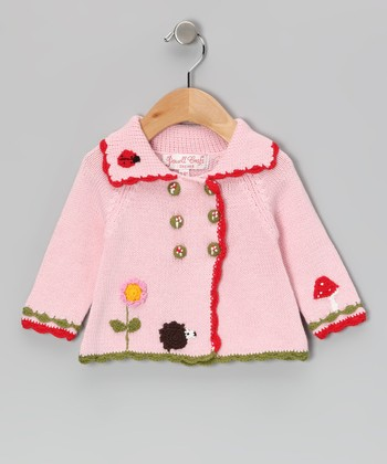 Pink Enchanted Forest Jacket - Infant