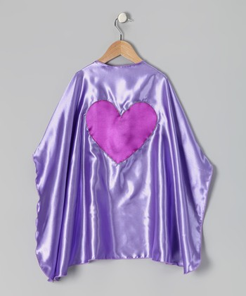 Purple & Orchid Heart Cape