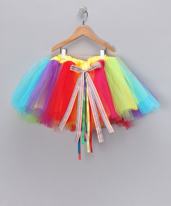 Yellow Circus Surprise Tutu - Toddler & Girls