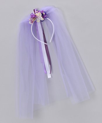 Purple Sugarplum Headband