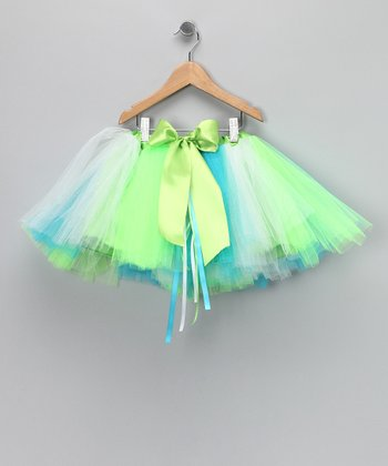Aqua Island Mermaid Tutu - Toddler & Girls