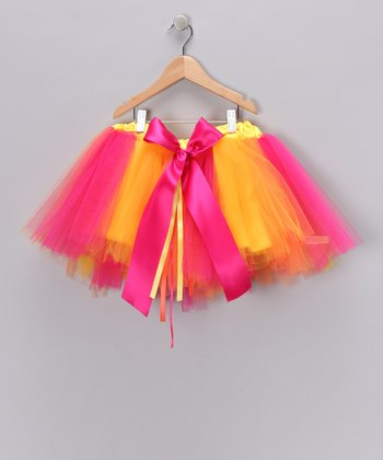 Rainbow Sherbet Tutu - Toddler & Girls